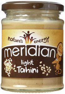 tahini paste full of calcium for a vegan dog's diet
