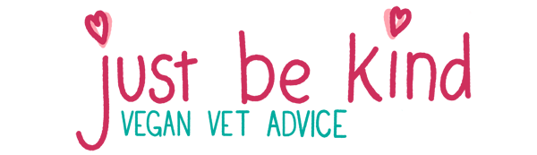 just be kind vegan vet advice