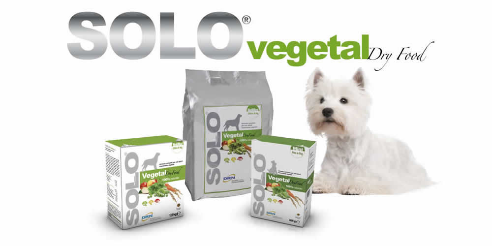 solo vegetal plant-based dog food