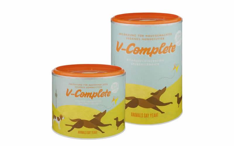 V Complete vegan dog food supplement