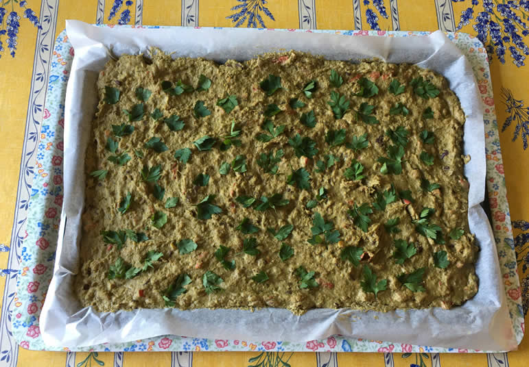 Supersprouts recipe before baking