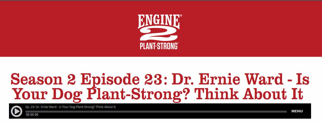 Dr Ernie ward Interview