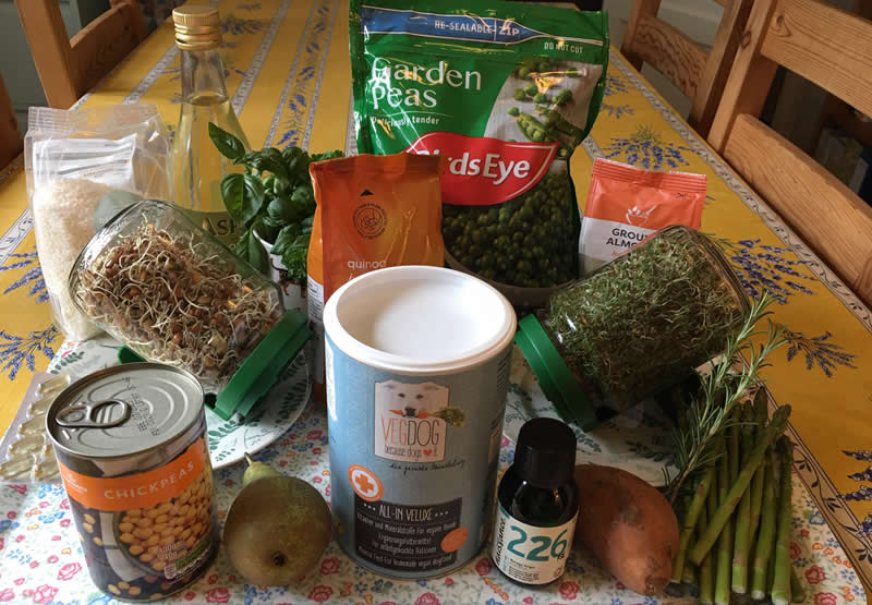 Our supersprouts family recipe for homemade dog food
