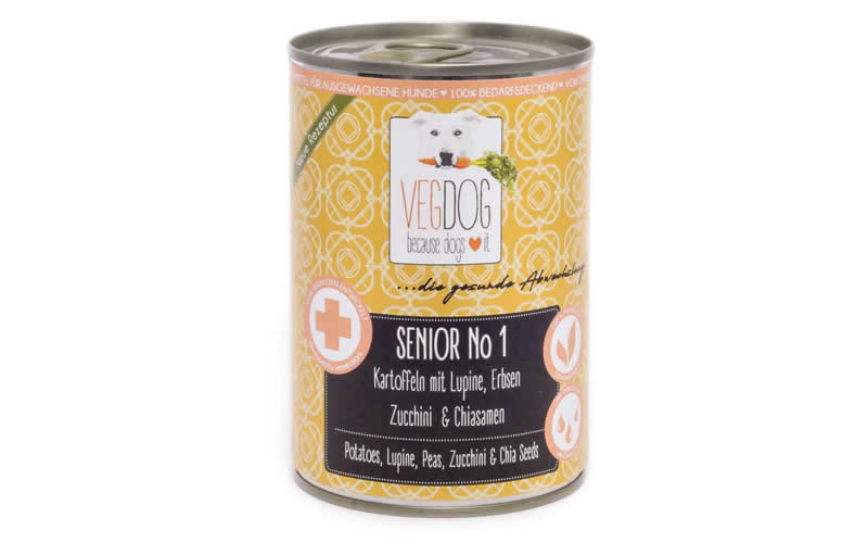 senior vegdog food