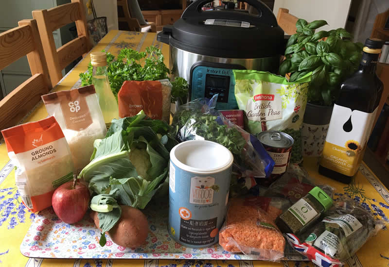 Our i-veg feed the rainbow recipe