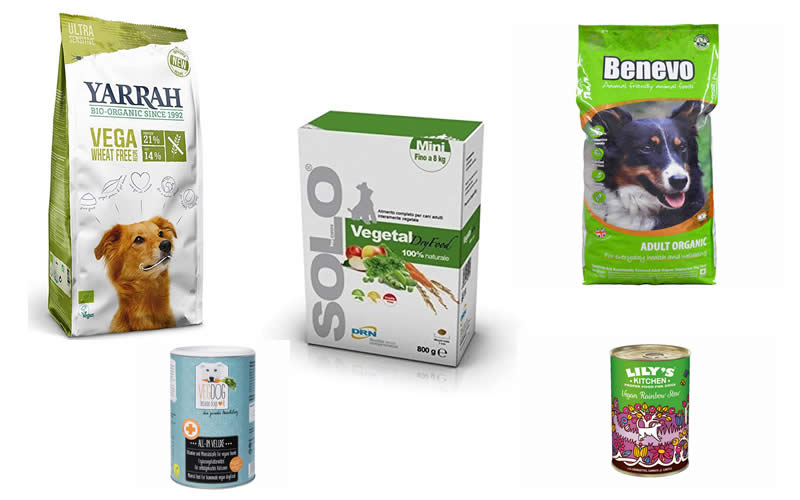 Benevo, yarrah, Solo-Vegetal, Lily's Kitchen, Vegdog supplement