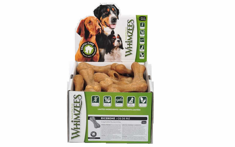 whimzees plant-based dog chews