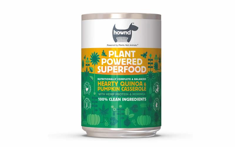 hownd vegan superfood tins made of quinoa and pumpkin