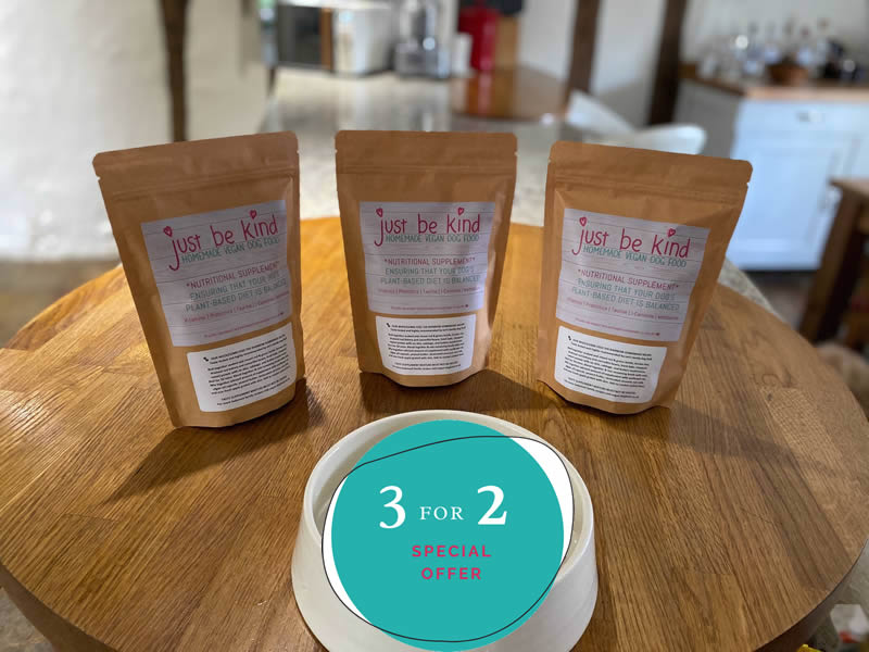 JUST BE KIND supplement 3 for 2 offer