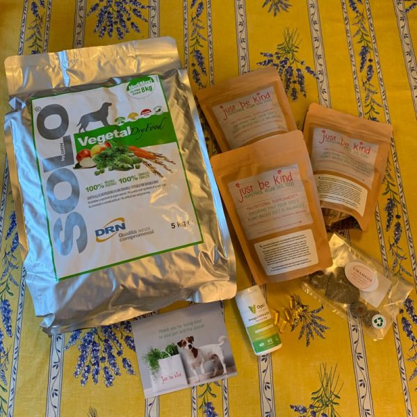solo-vegetal and JUST BE KIND supplement super special