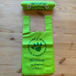 Biodegradable poo bags